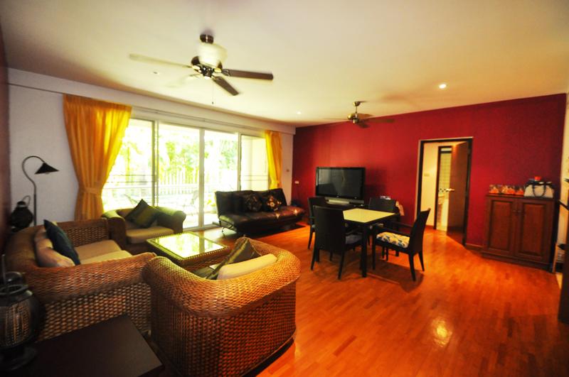 Апартаменты с тремя спальнями на продажу. Baan Sansaran