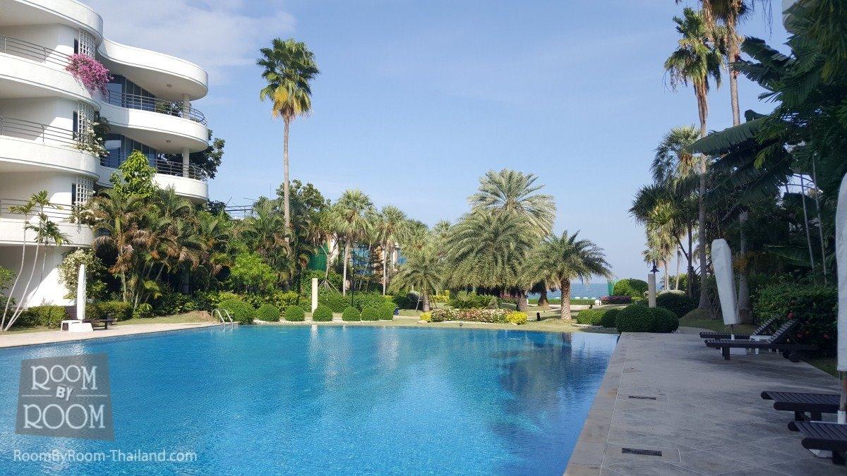 Апартаменты с тремя спальнями с выходом к бассейну. Chai Talay