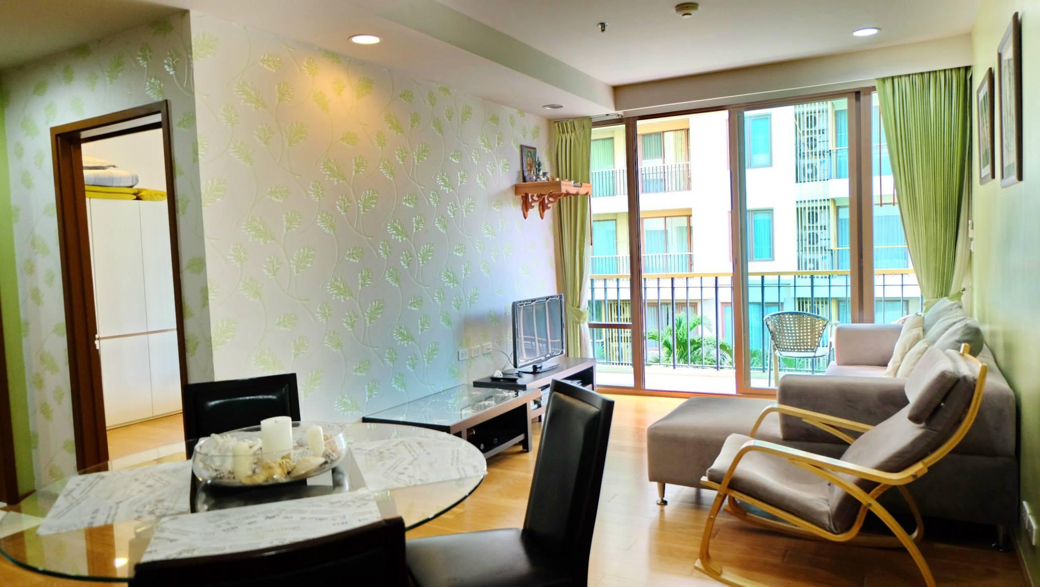 Апартаменты с двумя спальнями. Баан Сансук.