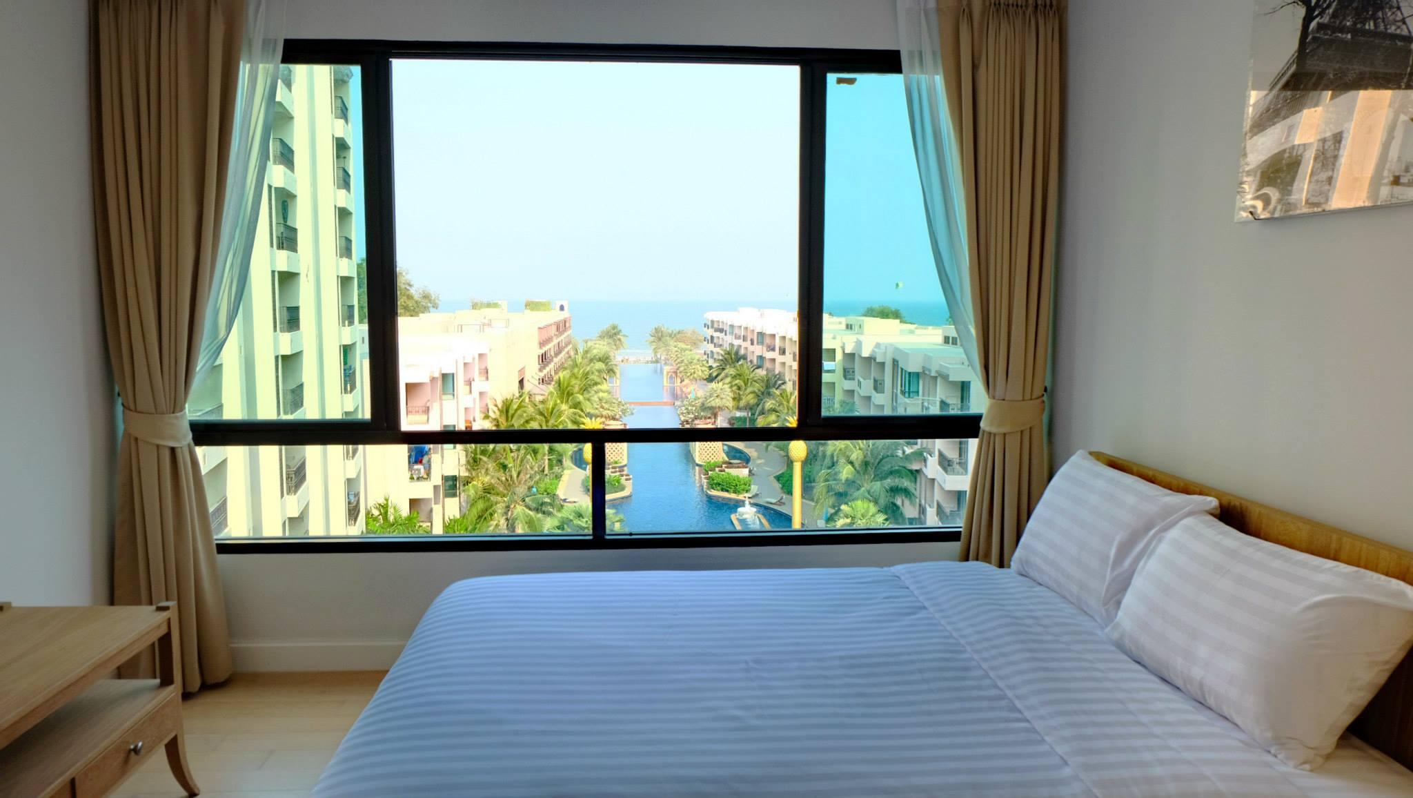Отличные апартаменты с тремя спальнями. Вид на море. Марракеш.