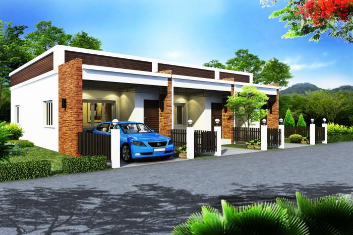 BaanVirun. Бюджетные дома на западе Хуа Хина