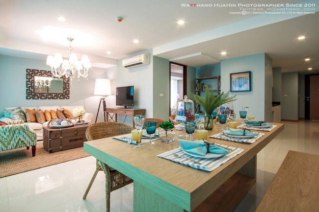 Роскошная квартира с видом на море. Rocco condominium