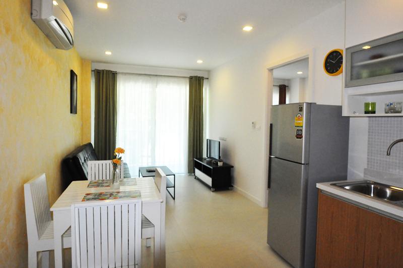 Апартаменты с одной спальней в Seacraze condominium