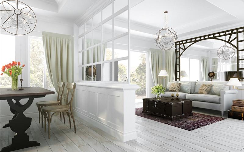 Просторная квартира с 2мя спальнями. Sansaran condominium