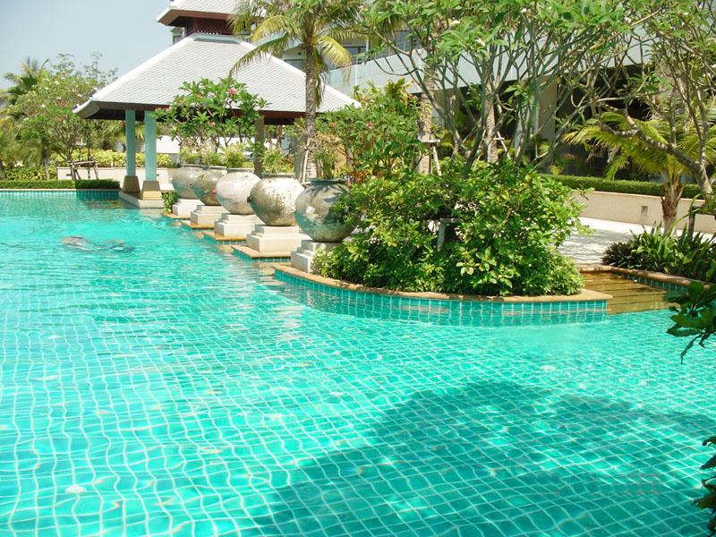 Palm Pavillon. Апартаменты с 3 спальнями и видом на море.